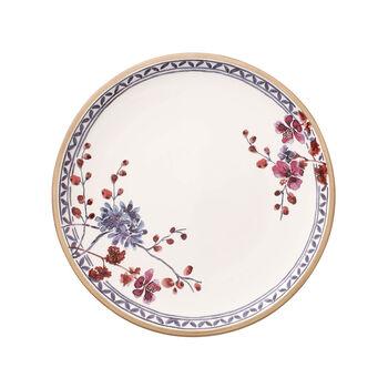 Artesano Provençal Lavender dinner plate with floral dècor