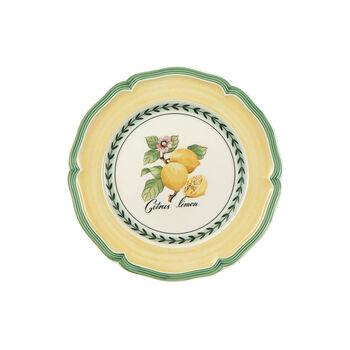 French Garden Valence breakfast plate