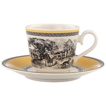 Audun Ferme Espresso cup & saucer 2pcs