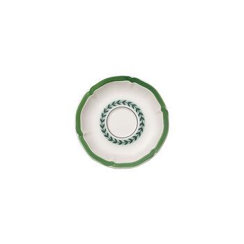 French Garden Green Line mocha/espresso cup saucer
