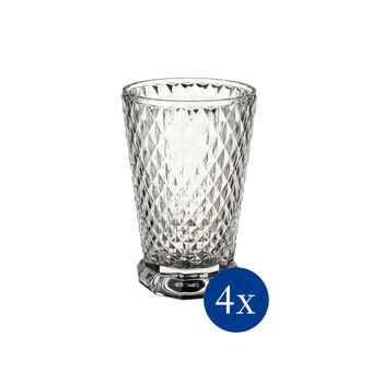 Boston Flare water glass, 4 pieces