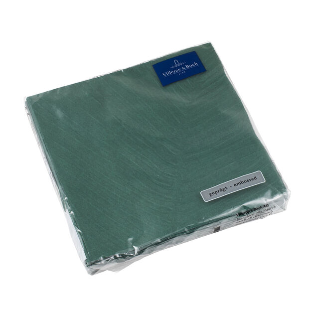 like.by Villeroy & Boch Paper Napkins it's my match green leaf Lunch, 20 pieces, 33 x 33 cm, , large