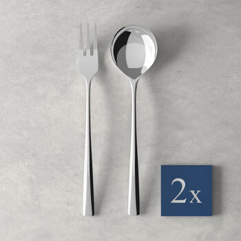 Daily Line Specials Spaghetti set 4 pcs, 2 spoons & 2 forks 265x85x30mm