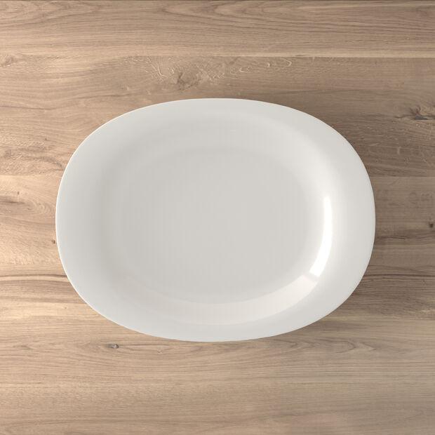 New Cottage Basic serving plate 42 cm, , large