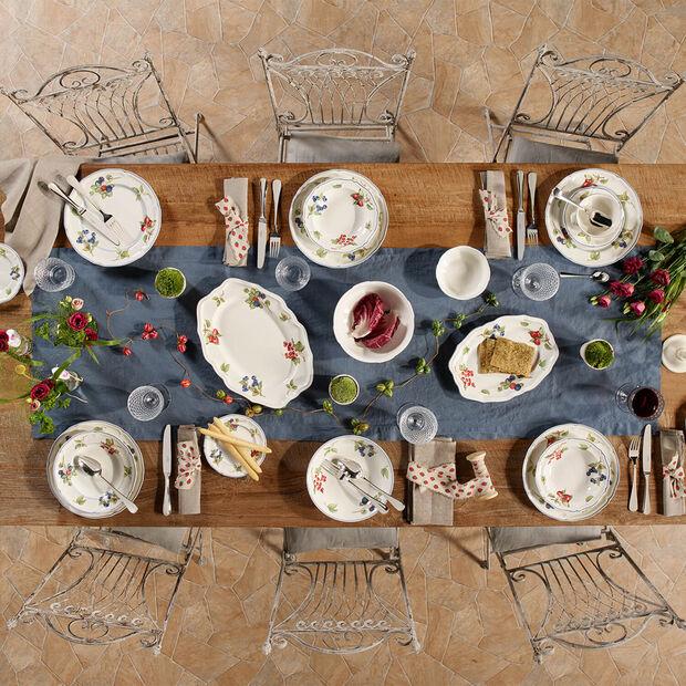 Cottage Oval platter (3) 30cm, , large