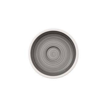 Manufacture gris mocha/espresso cup saucer