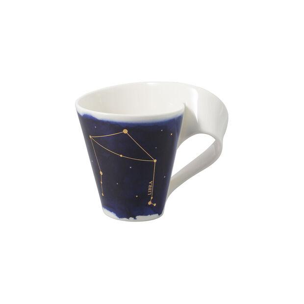 NewWave Stars mug Libra, 300 ml, blue/white, , large