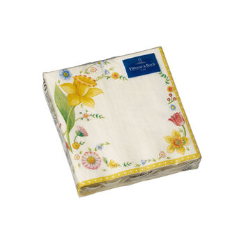 Spring Fantasy napkins, daffodil, 25 x 25 cm, 20 pieces