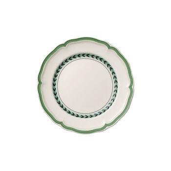 French Garden Green Line breakfast plate