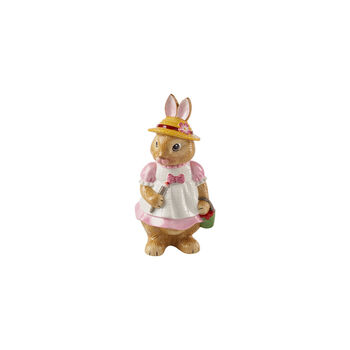 Bunny Tales large figurine Anna, 10.5 x 11 x 22 cm, rose/brown