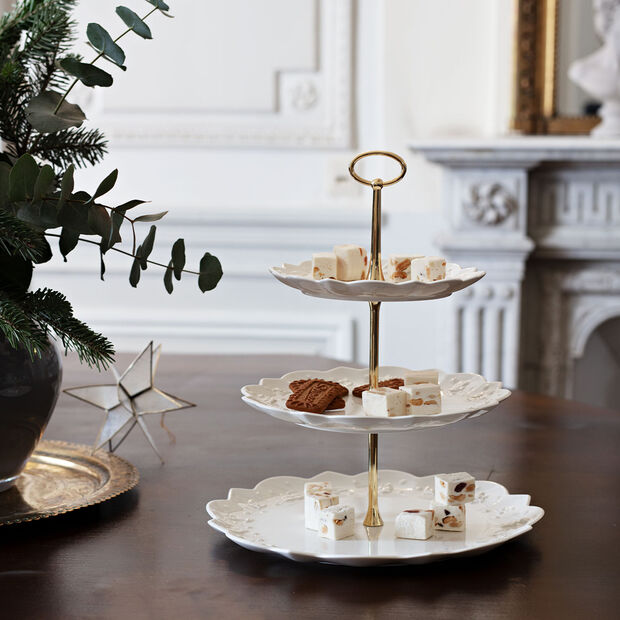 Toy's Delight Royal Classic cake stand, white, , large