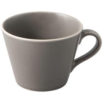 Organic Taupe Coffee cup 12x9,5x7cm