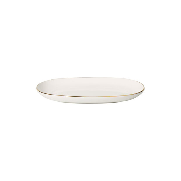 Anmut Gold pickle dish, 20 cm, white/gold, , large