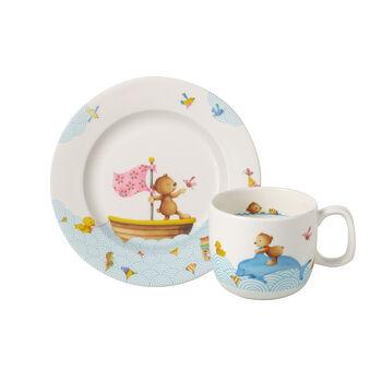Happy as a Bear Children's breakfast set, 2pcs.