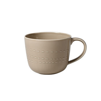 it's my moment tapered cup Almond, 14 x 10.5 x 8.5 cm