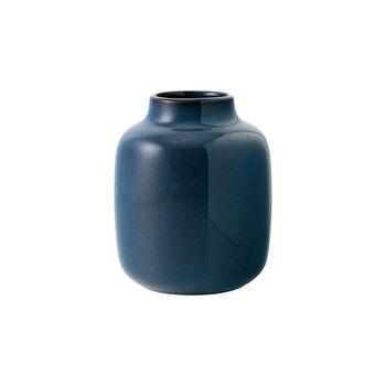 Lave Home shoulder vase, 12.5 x 12.5 x 15.5 cm, Bleu uni