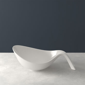Flow bowl with handle
