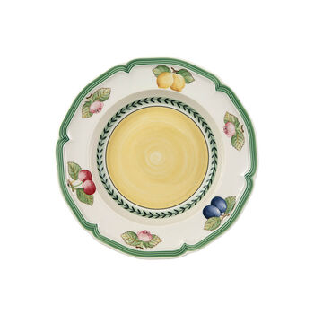French Garden Fleurence soup plate