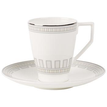 La Classica Contura Coffee cup & saucer 2pcs