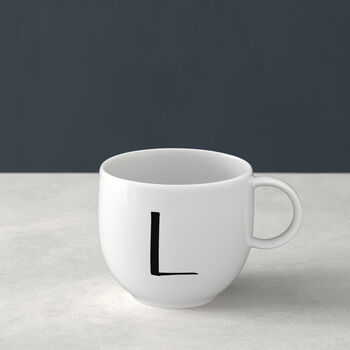 Letters Mug L 13x10x8cm