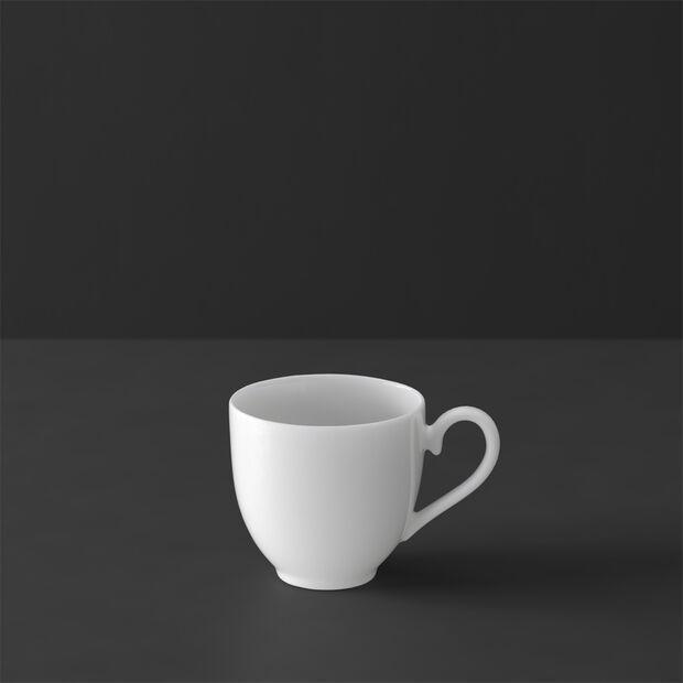 White Pearl mocha/espresso cup, , large