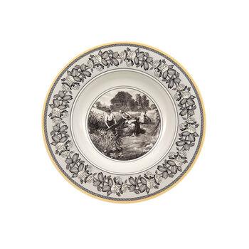 Audun Ferme Deep plate 24cm
