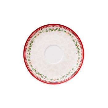 Winter Bakery Delight breakfast cup saucer