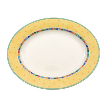 Twist Alea Limone oval plate 34 cm
