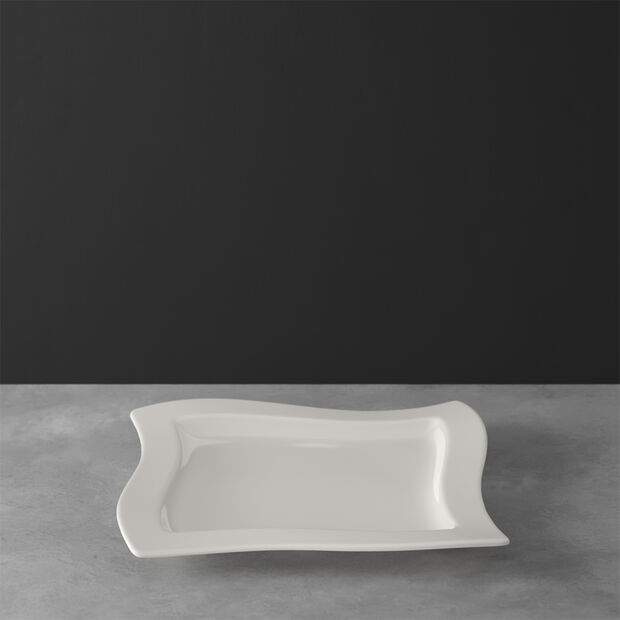 NewWave square plate 34 x 34 cm, , large