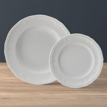 Manoir plate set, 2 pieces, for 1 person