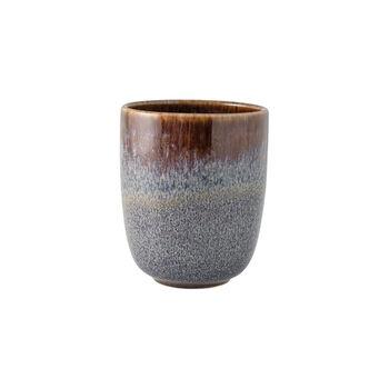 Lave Beige handleless mug, beige, 9 x 9 x 10.5 cm, 400 ml