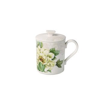 Quinsai Garden Gifts Mug with lid 11,5x8,5x11cm
