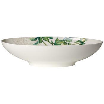 Quinsai Garden oval bowl 38 x 22 cm