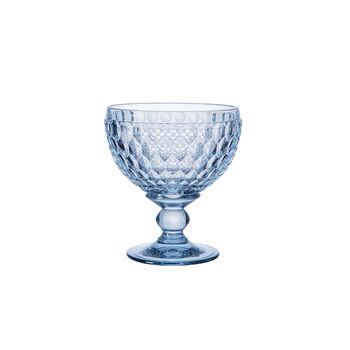 Boston Coloured champagne coupe/dessert bowl, blue, 12.5 cm