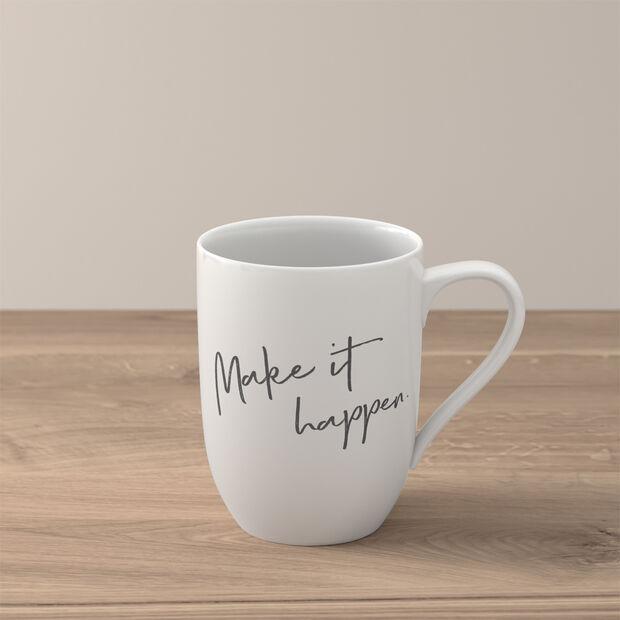 "Statement mug ""Make it happen"", , large"