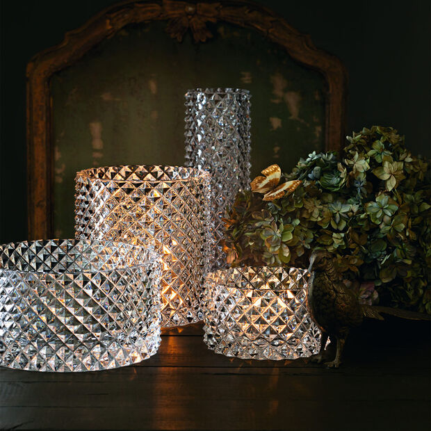 Pieces of Jewellery Vase/hurricane lamp 180mm, , large