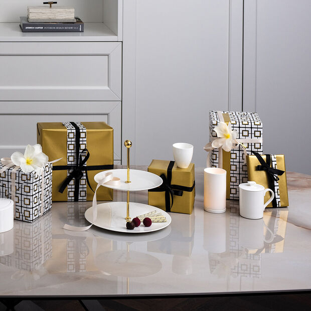 MetroChic blanc Gifts Tea cup 7x7x7cm, , large