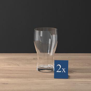 Purismo Beer pint glass 2-piece set