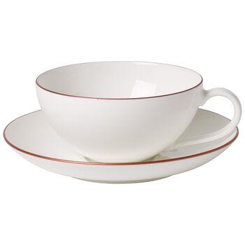 Anmut Rosewood Tea cup & saucer 2pcs