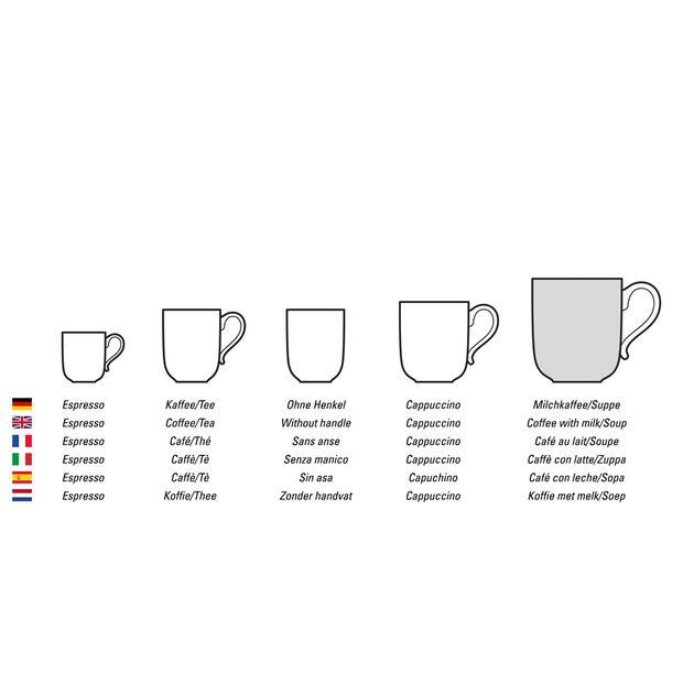 Royal café au lait cup, , large