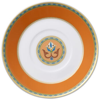 Samarkand Mandarin mocha/espresso cup saucer