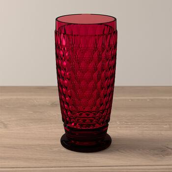 Boston Coloured Highball glass Red