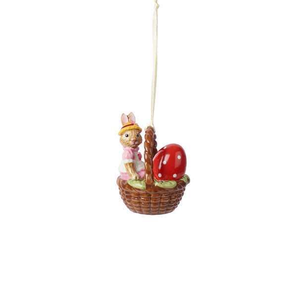 Bunny Tales ornament basket Anna, , large