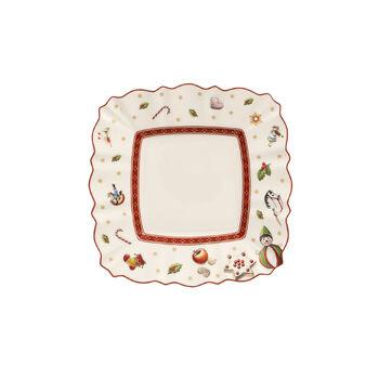 Toy's Delight square bread plate