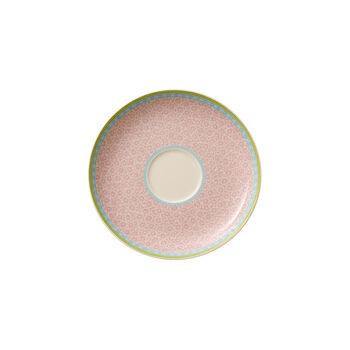 Rose Cottage Saucer tea cup pink