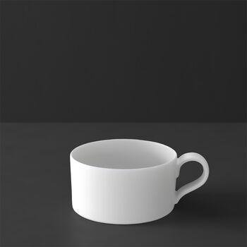 MetroChic blanc tea cup, 230 ml, white