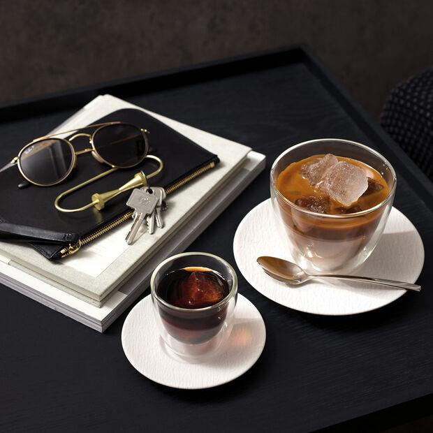 Manufacture Rock Blanc café au lait cup saucer, 17 cm, , large