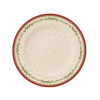 Winter Bakery Delight falling star dinner plate