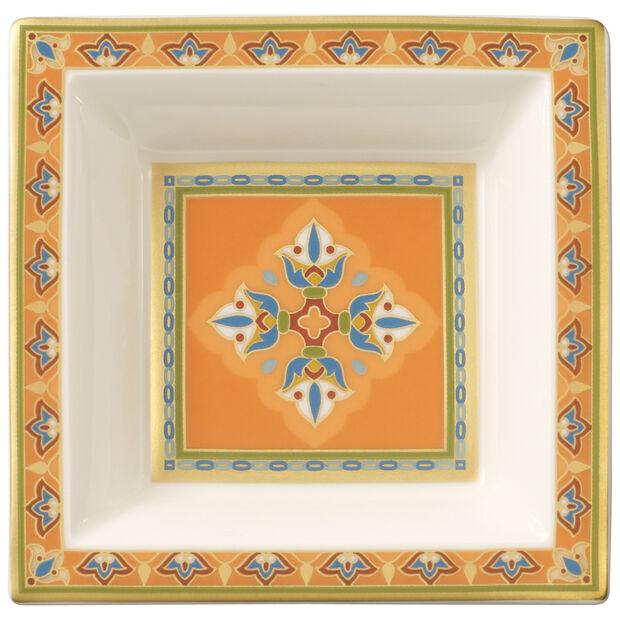 Samarkand Mandarin square bowl 10 x 10 cm, , large