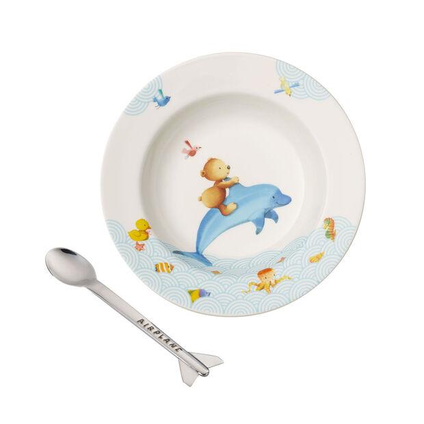 Happy as a Bear Children's dining set, 2 pcs., , large
